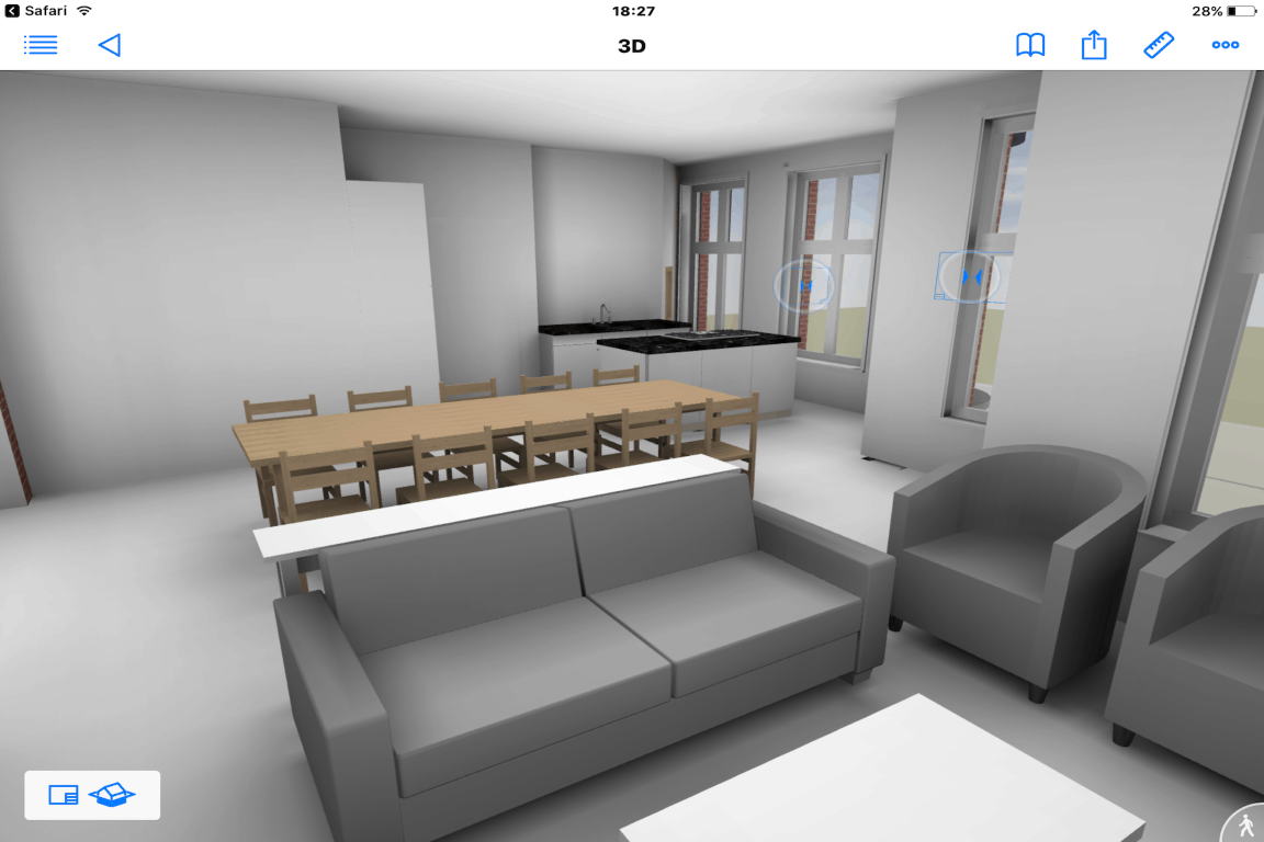 BIMx luxe appartementen 2.3