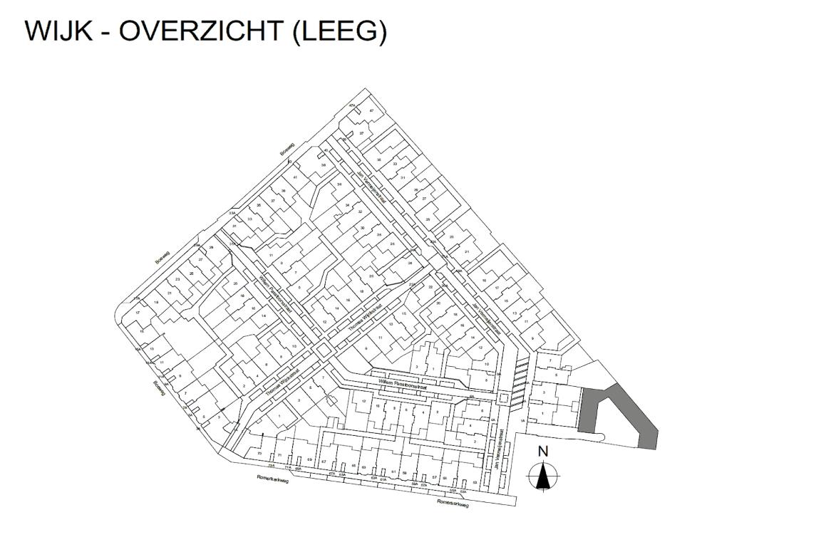 Informatie woonwijk uit BIMmodel 1
