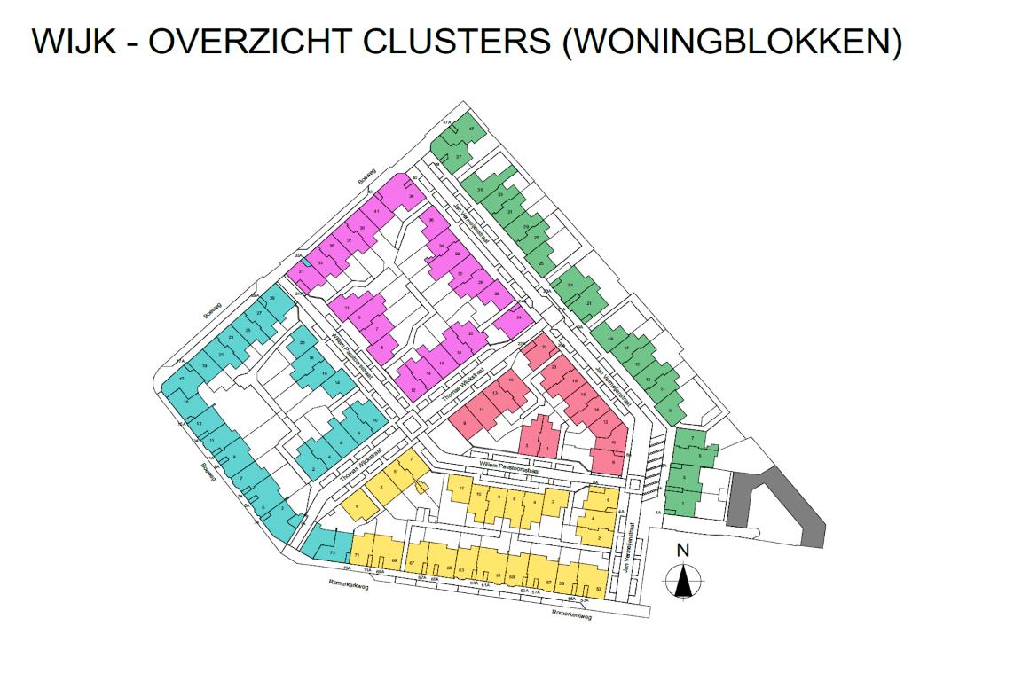 Informatie woonwijk uit BIMmodel 2
