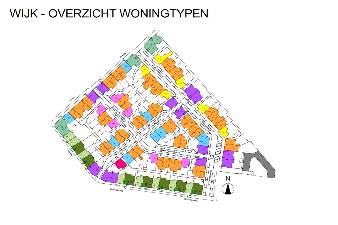 Informatie woonwijk uit BIMmodel 3