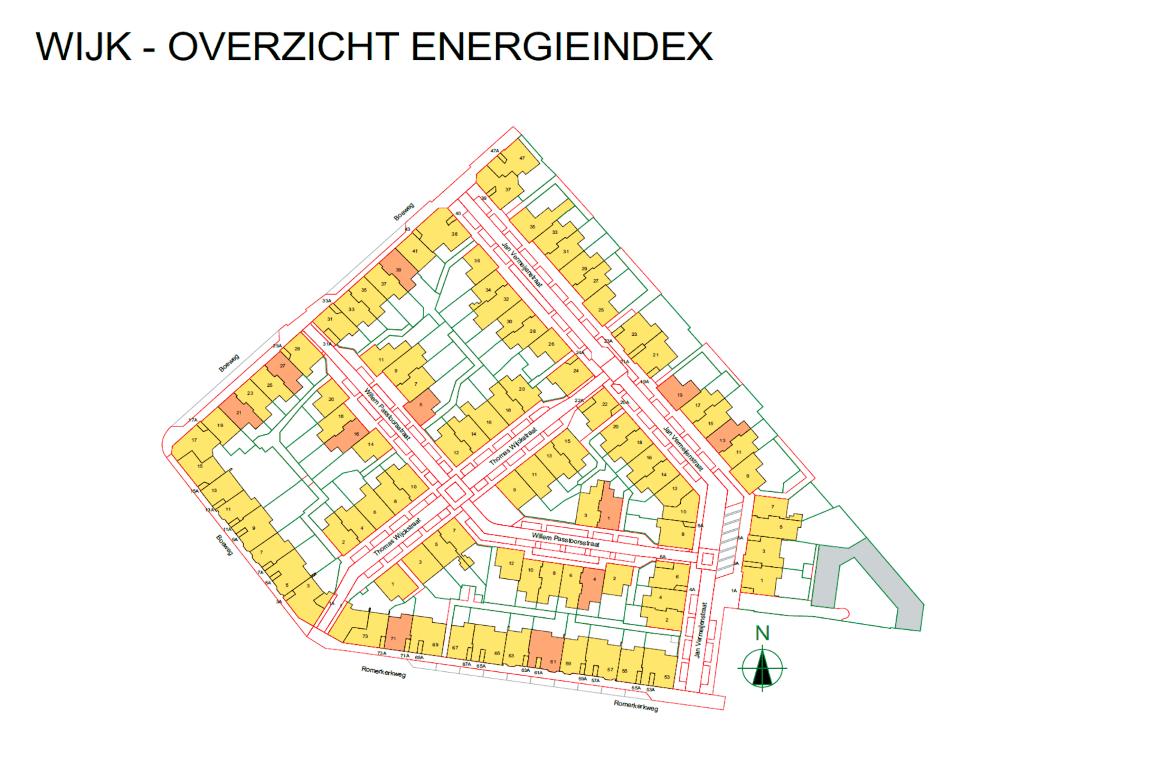 Informatie woonwijk uit BIMmodel 4