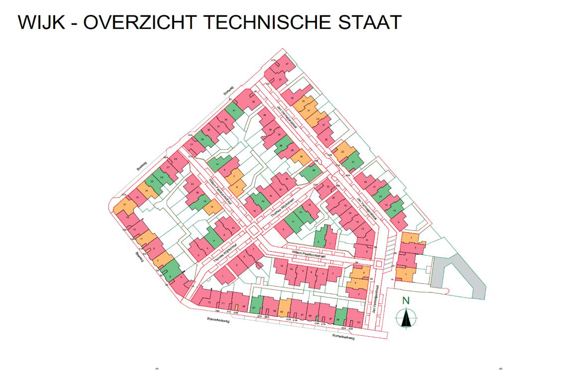Informatie woonwijk uit BIMmodel 5