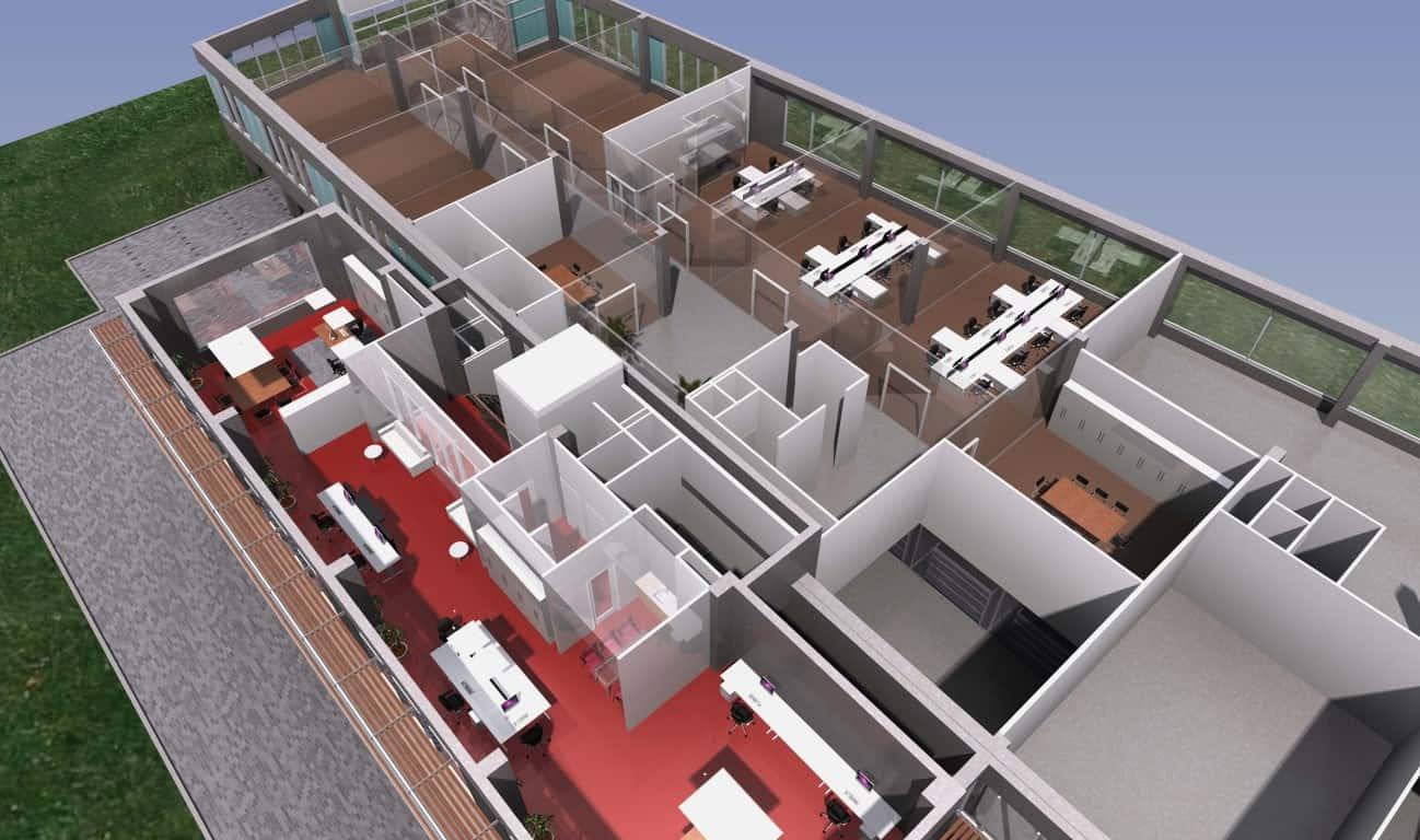 Inrichting kantoor 4