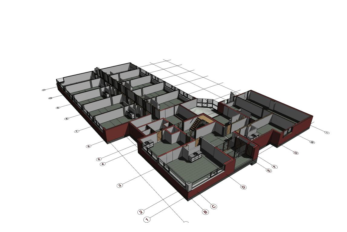 Transformatie kantoor